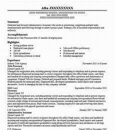 title processor resume sle processor resumes livecareer
