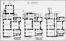 british colonial house plans plate 45 admiralty house plans of ground first and