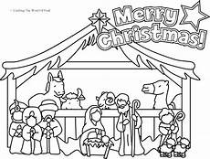 manger coloring pages at getcolorings free