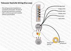 7 Way Tele Wiring by Telecaster Nashville Wiring Diagram Telecasters