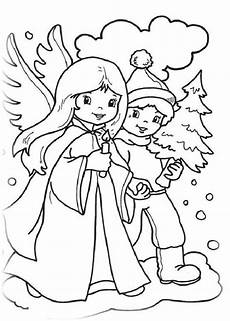Malvorlagen Weihnachtsengel Kostenlos Neujahr Und Weihnachten 5 Ausmalbilder Weihnachten