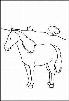Malvorlage Steigendes Pferd Pferd Window Color Vorlage Horses Malvorlagen Pferde