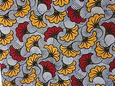 fleur tissu mariage 1 coupon tr 232 s beau wax vlisco quot fleurs de mariage quot