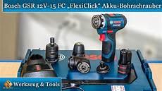 bosch professional gsr 12v 15 fc flexiclick akku
