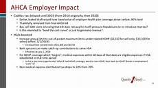 cadillac tax delayed until 2020 impact of the administration s policy shifts on