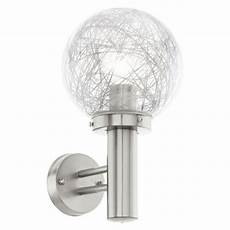 nisia outdoor globe wall light 93366 the lighting superstore