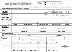 gro birth certificate application form how to get your guyana birth certificate guyana then and now