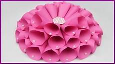 diy papier blumen dekoration selber basteln paper