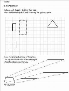 enlarging shapes studyladder interactive learning games