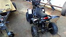 How To Assemble A 110cc 4 Wheeler Or
