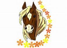 Ausmalbilder Pferde Bunt Malvorlagen Pferde