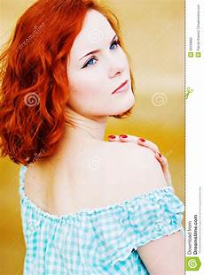 young girl with red hair stock photo image of forest beautiful young girl with red hair stock photo image of people copy 20239882