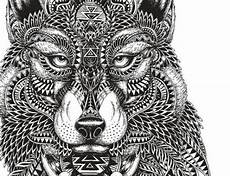 coloring pages mayan wolf coloring crafts