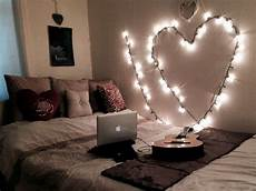 ways to utilize string lights in your bedroom