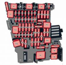 audi a3 8v 2012 to 2018 fuses box location and fuse list