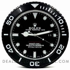 rolex all black submariner wanduhr on the impressive and