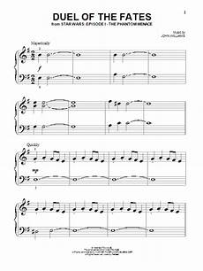 duel of the fates sheet music direct