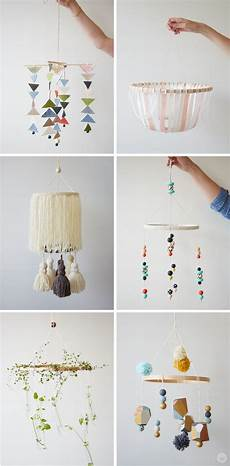 Diy Embroidery Hoop Baby Mobile Baby Diy Projects Baby