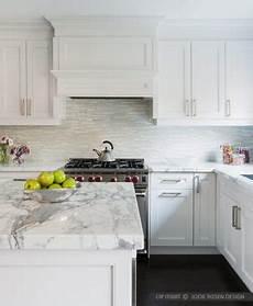 Limestone Backsplash Kitchen Modern White Marble Glass Kitchen Backsplash Tile