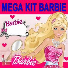 kit imprimible barbie cumplea 241 os invitaciones dise 241 o tarjeta bs 0 08 en mercado libre