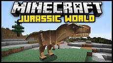 minecraft jurassic craft world mod mod showcase
