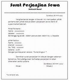 misscupu posting lagi contoh surat perjanjian sewa rumah kontrak rumah tinggal