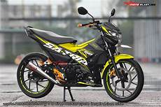 Stiker Motor Satria Fu by Gambar Cutting Sticker Motor Satria Fu 150 Modif Sticker
