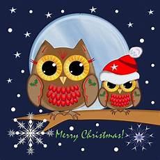 cute christmas owls merry christmas text throw pillow christmas owls owl merry christmas