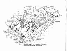 Free Auto Wiring Diagram 1964 Ford F 100 Thru F 750 Truck