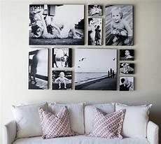 bildergalerie an der wand 100 fotocollagen erstellen fotos auf leinwand selber