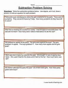 subtraction problem solving worksheets for grade 3 10586 subtraction problem solving worksheet 3