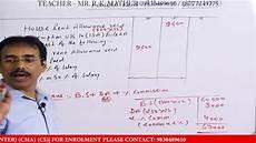 house rent allowance hra calculation taxability hindi
