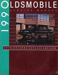 auto repair manual online 1995 oldsmobile ciera spare parts catalogs 1990 oldsmobile cutlass ciera cutlass cruiser factory service manual