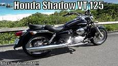 honda shadow vt 125 125ccm de hd