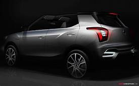 SsangYong Previews New X100 SUV With Paris Motor Show