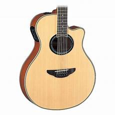 best thin acoustic guitar yamaha apx700ii12 thin solid spruce 12 string acoustic electric guitar 86792841212 ebay