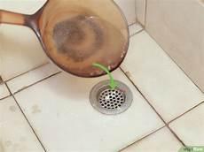 abfluss reinigen mit soda einen abfluss mit salz und essig reinigen wikihow