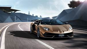 Lamborghini Aventador SVJ Roadster Unveiled At The Geneva