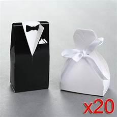 diy wedding dress favor box 40x cajitas para boda con forma de vestido de boda y frac