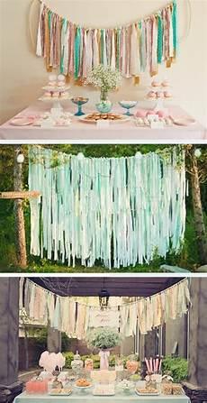 diy wedding fabric strips wedding ideas wedding