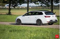 Seat Cupra St On Vossen Wheels Is Light Tuning For