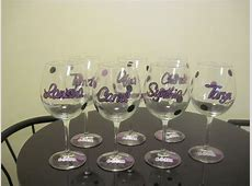 16 Useful DIY Ideas How To Decorate Wine Glass
