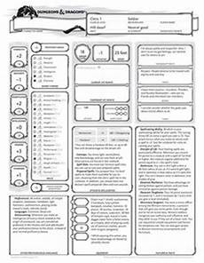 dungeons and dragons 3 5 character sheet of dnd other games pinterest character