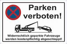 Parken In Feuerwehrzufahrt - parkverbot aufkleber parken verboten halteverbot