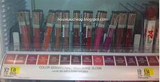 Maybelline New Nouveau spotted new maybelline color sensational high shine lip