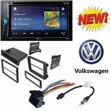 pioneer double 2 din avh 200ex dvd mp3 player 6 2 quot touchscreen bluetooth w vw double single