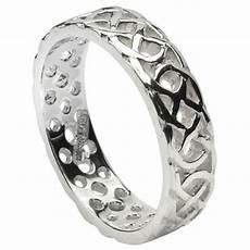 pierced celtic knot white gold wedding ring celtic wedding rings rings from ireland