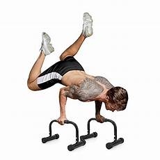 new pushup stands press heavy duty bars parallettes for workout ebay