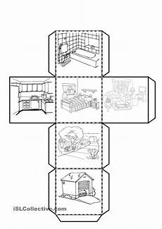printable worksheets parts 18216 cube with the parts of the house worksheet free esl printable worksheets made by teachers