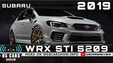 2019 subaru wrx sti s209 review release date specs prices